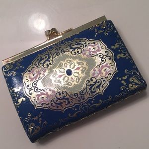 Antique coin purse!  Leather!  From Venice!!